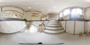 テトテスタジオ階段