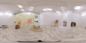 白い壁のテトテスタジオ